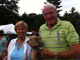 Mona and Charlie Coombs - Jeff's Parents.