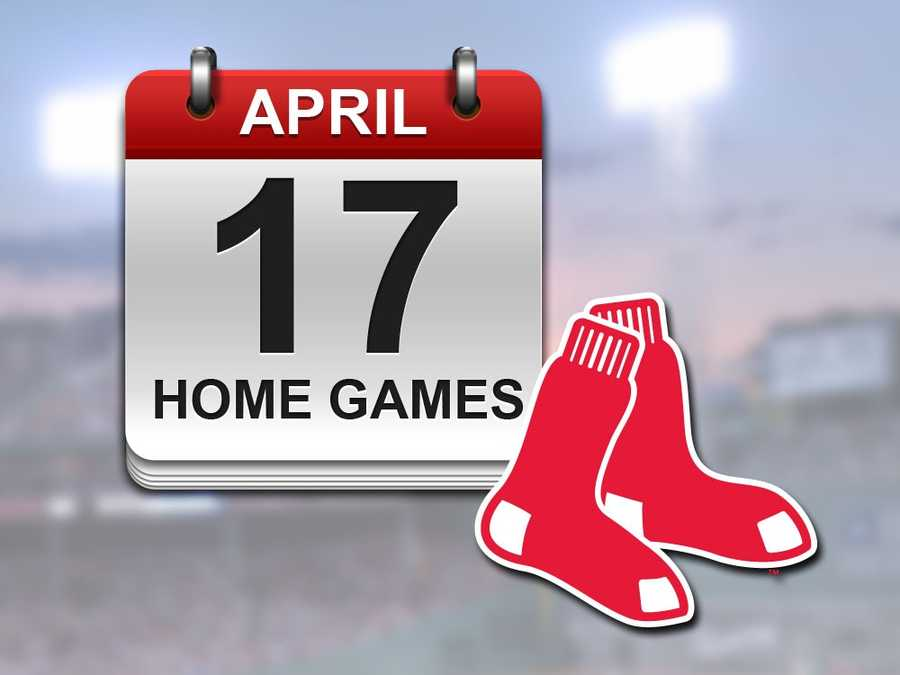 Fans will probably need to brave some chilly conditions... the Red Sox will host 17 games at Fenway Park in April, the most out of any month during the season.