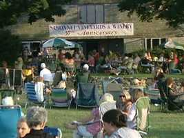 Locals hope that the new owners will continue the summertime tradition of Thursday night concerts at the vineyard.
