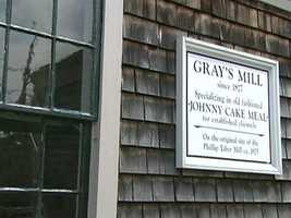 Next stop...Gray's Grist Mill in Little Compton.