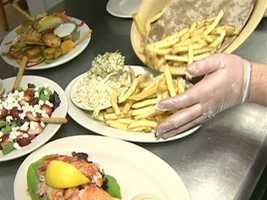The Bayside's success is undoubtedly based on its well prepared, fresh food.