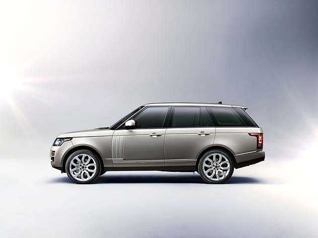 The 2012 Range Rover has a starting price of $83,500 and will go up to $130,950.