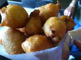 A New England classic... clam fritters!