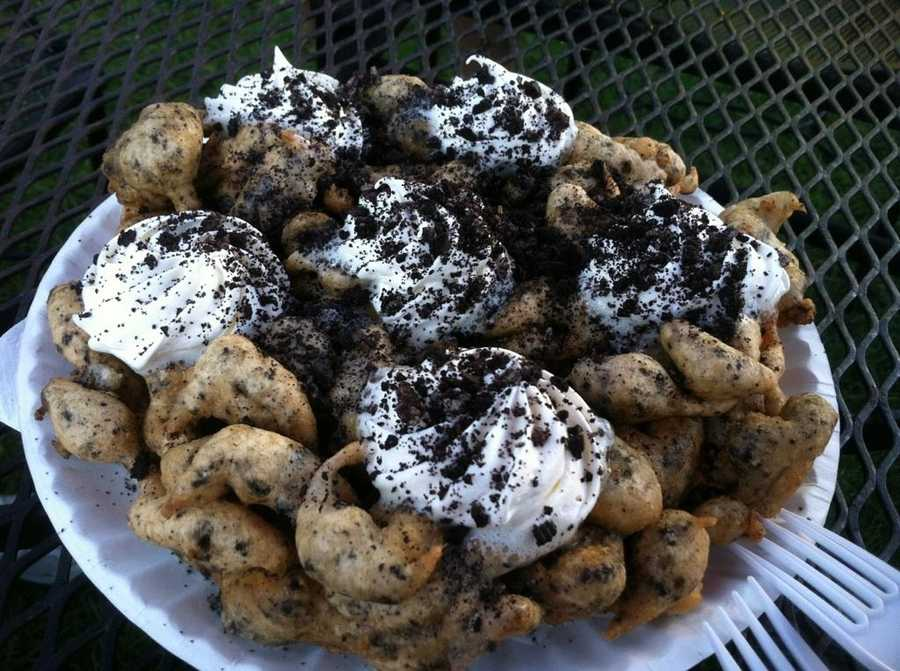 For this Oreo funnel cake and dozens of other unique foods, the Big E runs until Sept. 30.