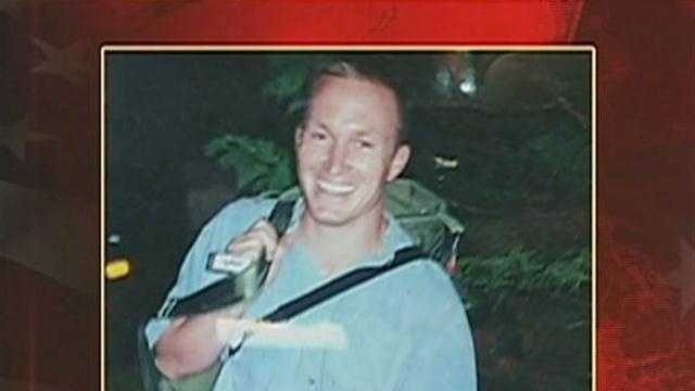 A funeral is being held for Glen Doherty at St. Eulalia church in his hometown of Winchester.