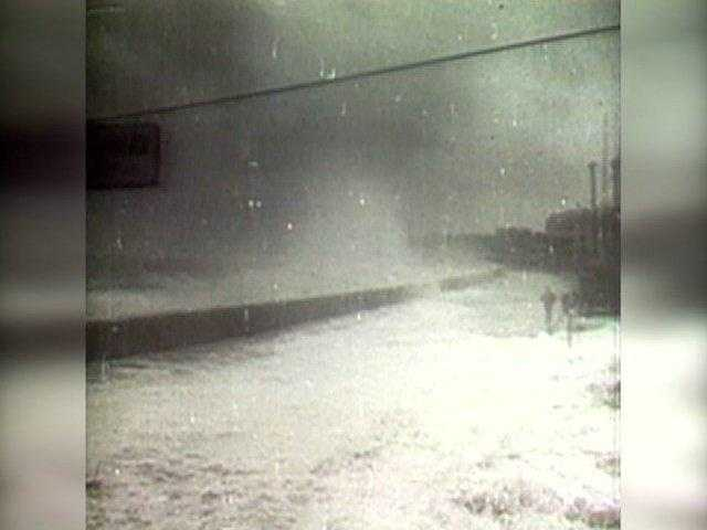 The hurricane was the first major hurricane to strike New England since 1869.