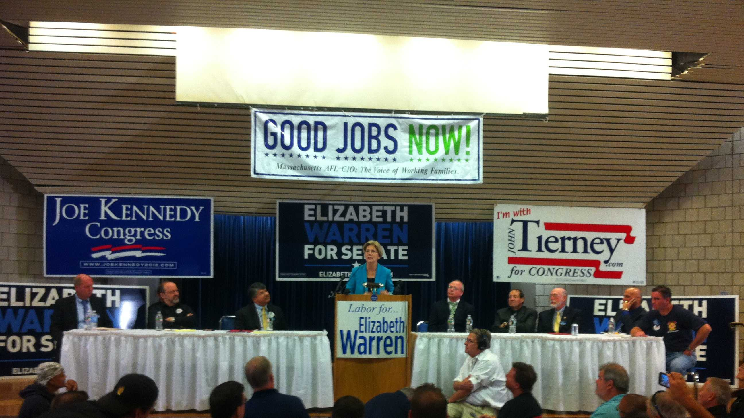 elizabeth warren ibew event 924