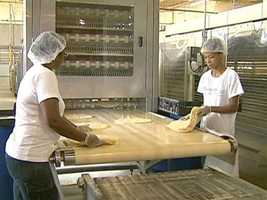The breads go to service vendors, supply restaurants, cafeterias, and supermarkets throughout New England.