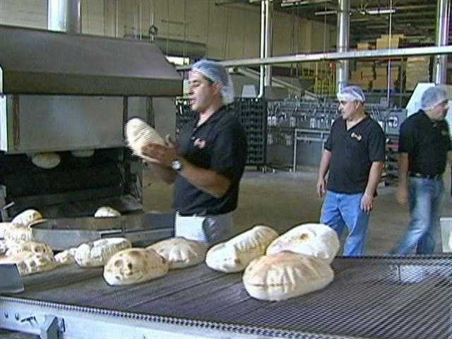 Al Ata says, the difference in their bread, is the taste.