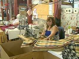 About 45% of the curtains and window treatments, come from their U.S. factories.