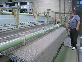 Twelve years ago, Merida began manufacturing a new line of carpet, made primarily of pure wool.