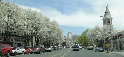 21.) Great Barrington -- .48 percent of those enrolled are with the Green Party.