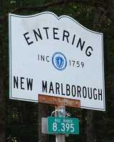 10.) New Marlborough -- .64 percent are with the Green Party.