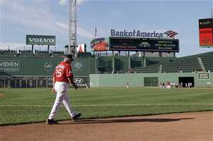 """As fans began grumbling about the shaky start to the Red Sox season, another low moment comes against the hated New York Yankees. The Red Sox blew a 9-0 lead and fell to the Bronx Bombers 15-9. Valentine said. """"I think we've hit bottom. If this isn't bottom, then we'll find some new ends to the earth I guess."""""""