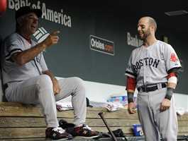 August 14: Reports from Yahoo! Sports of attempted mutiny in late July, with Dustin Pedroia and Adrian Gonzalez supposedly leading a meeting with ownership saying some players no longer wanted to play for Valentine.