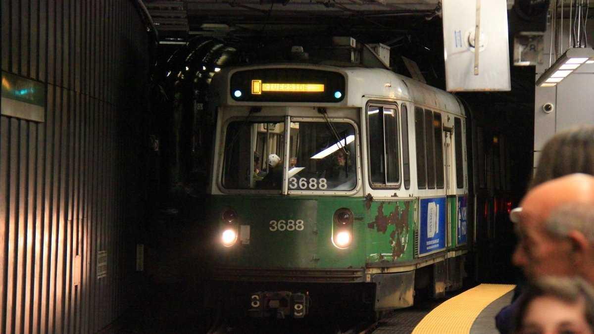 Green Line T Trolley