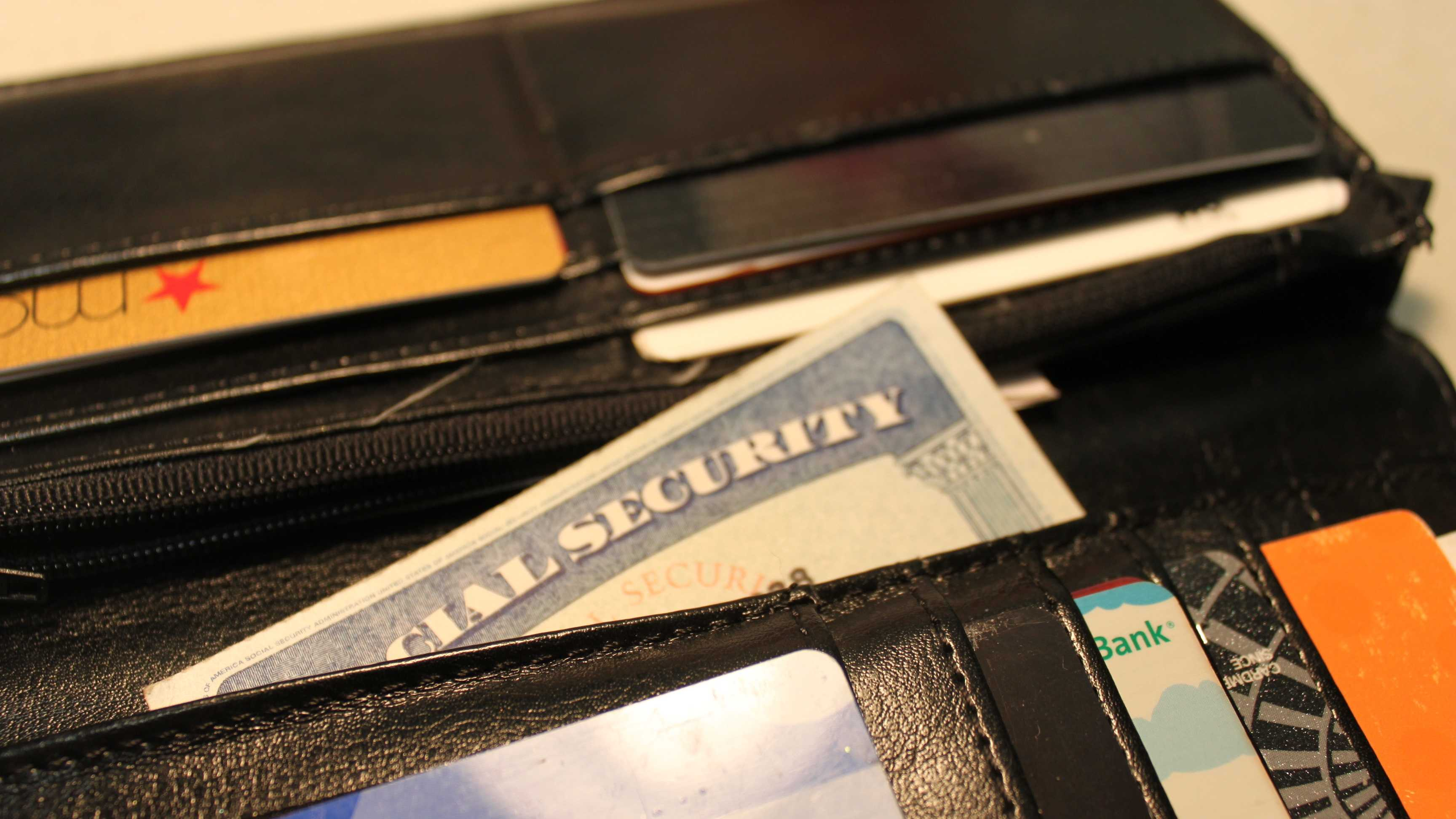 1.) Your Social Security card