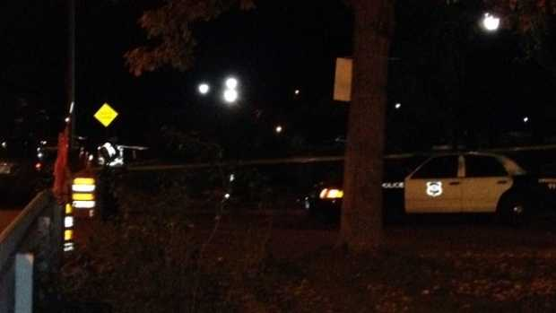 Authorities searched into the night for the body. They cleared the scene on Oct. 13.