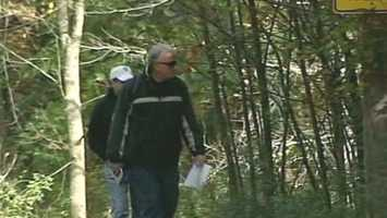 Police began searching Friday night the area near Peirce Island in Portsmouth for Marriott's body.