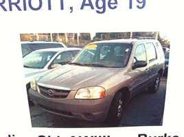 The car Marriott was last seen driving.
