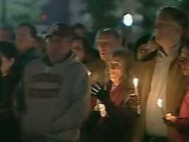 A prayer service and vigil was held in Westborough Saturday night after Marriott was declared dead.