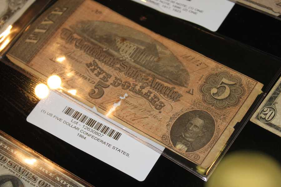 A $5 from 1864.
