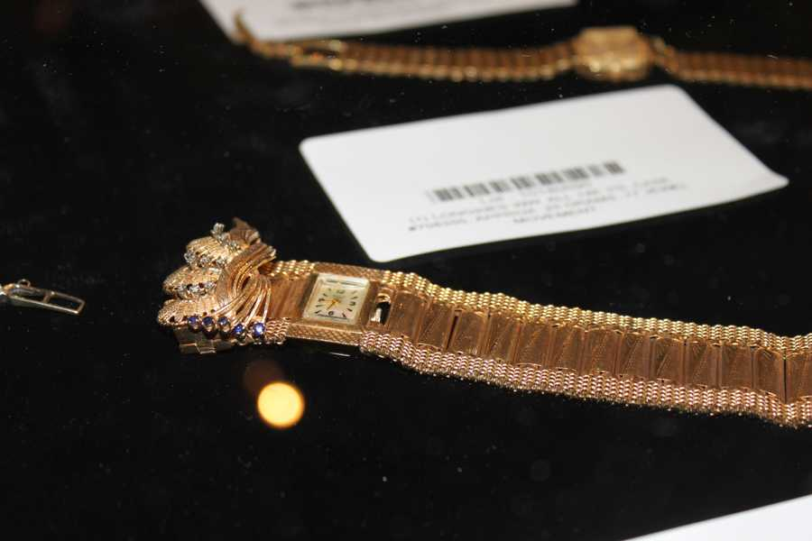 Several high-end men's and women's watches are up for auction.