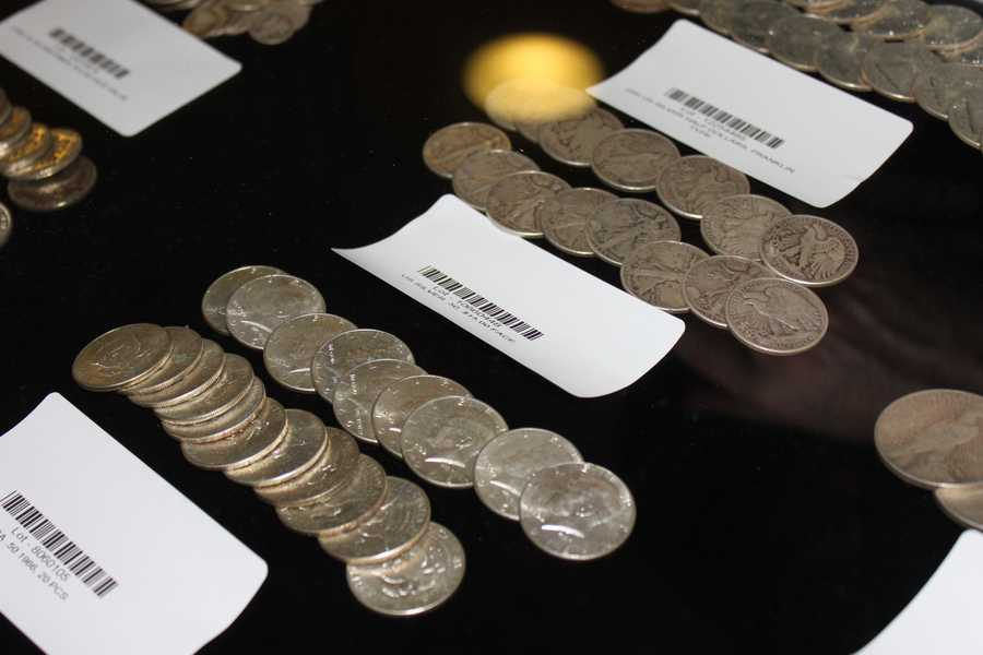Officials expect some of the coin buyers will melt them and sell them for their weight in silver.