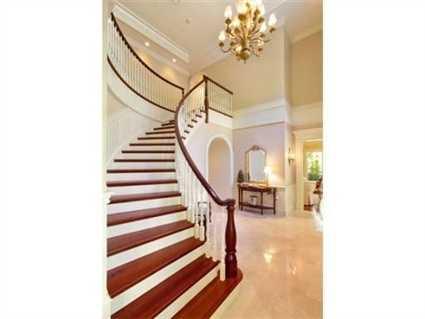 A grand entryway.