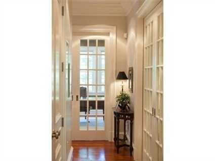 The home features French Doors.