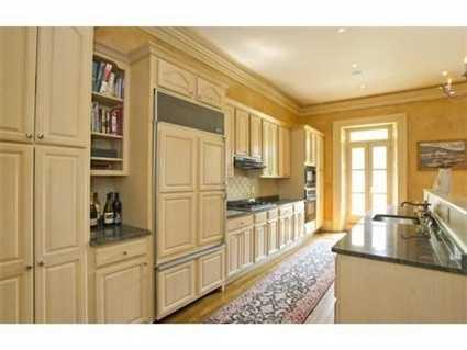 A gourmet kitchen.
