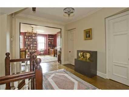 The home offers an open floor plan.