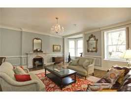 An elegant sitting room.