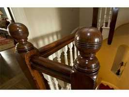 Some of the original woodwork.