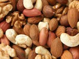 """I blast through stress by crunching on nuts..."""