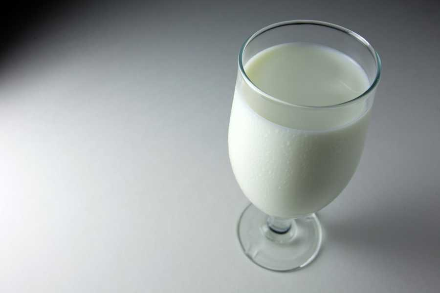 """while a glass of warm milk is a surefire way to settle down for sleep."""