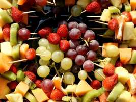Snack on colorful fruits like pineapple, cranberries, and plums. These fruits contain antioxidants that fight off free radicals known to damage neurons in the brain (and potentially harm your memory).