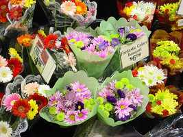 2.) Discounted movie tickets, flowers and purchases from major retailers.