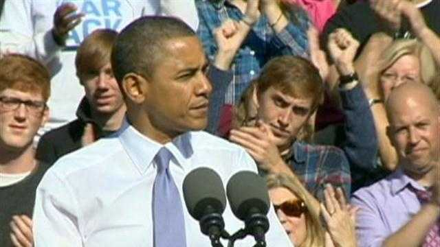 President Barack Obama's visit to Nashua on Saturday will be his second to the Granite State in 9 days.