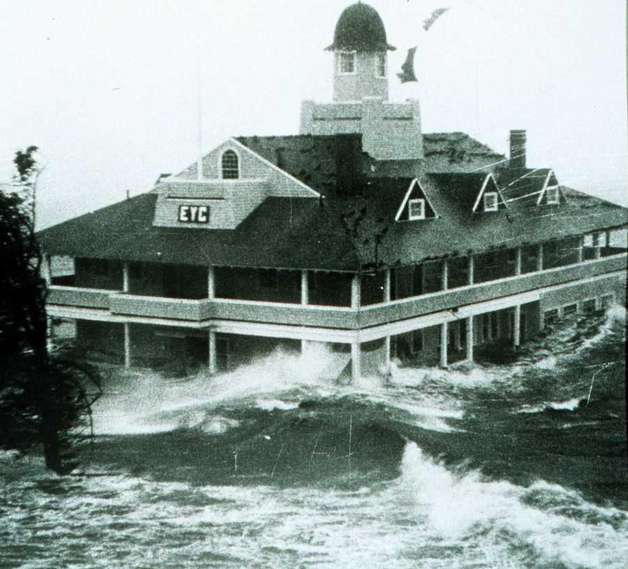 August1954- Hurricane Carol - A Category 3 hurricane with wind gusts of category four strength in southeast Rhode Island and south coastal Massachusetts in the Buzzards Bay area west of Cape Cod. 60 killed.