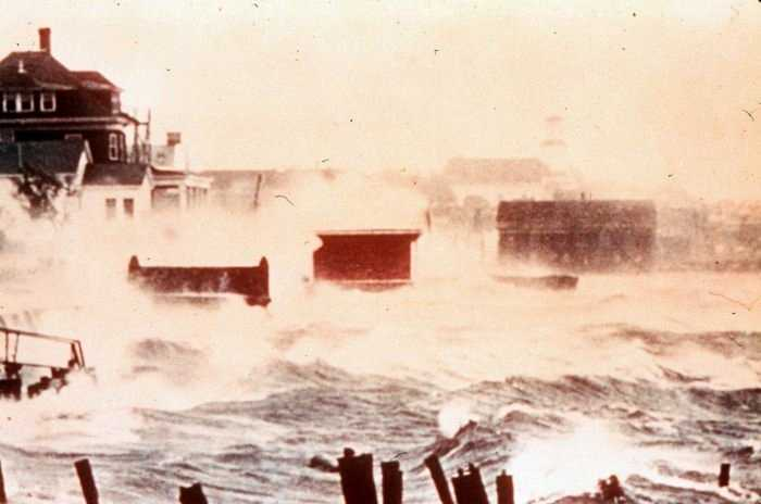 There was extreme damage in coastal south Rhode Island and south coastal Massachusetts. Buzzards Bay damage rivaled the 1938 hurricane.