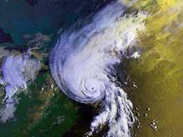August 1991 - Hurricane Bob – a Category 2 hurricane. Winds gusted to Category 3 strength in southeastern Massachusetts. One of the smallest in area yet most intense hurricanes to hit southern New England since 1938. Comparable to Hurricane Carol in Buzzards Bay area of Massachusetts and worst storm on Marthas Vineyard MA since 1944.