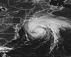 In September 1996, Hurricane Edouard - a Category 1 storm, caused offshore-hurricane force wind gusts from Buzzards Bay east across Cape and Islands.
