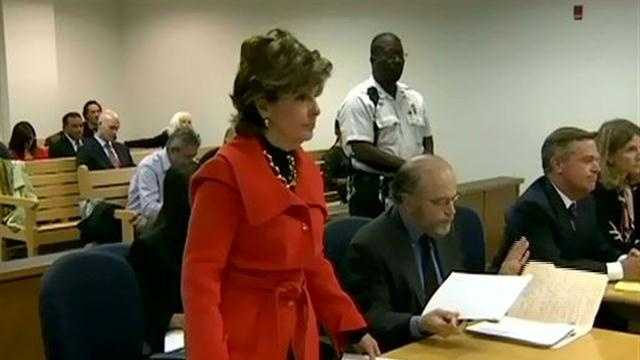 Allred in court