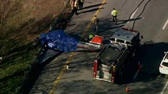 Plane crash claims two lives in Hooksett