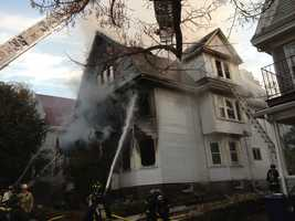 The cause of the blaze remains under investigation.