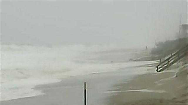 Access to Plum Island closed off due to Sandy