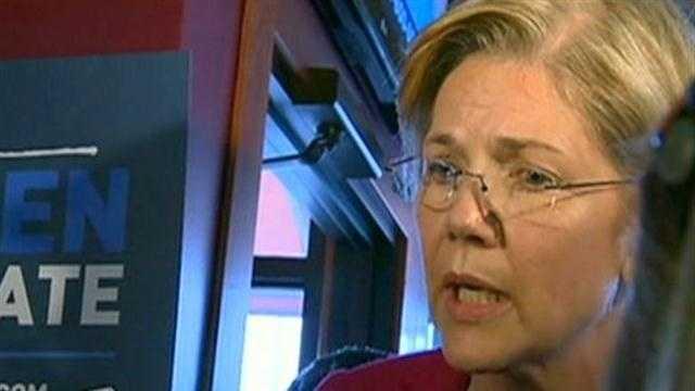 Elizabeth Warren campaigns in Lowell