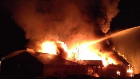 Brookline NH Lumber Fire