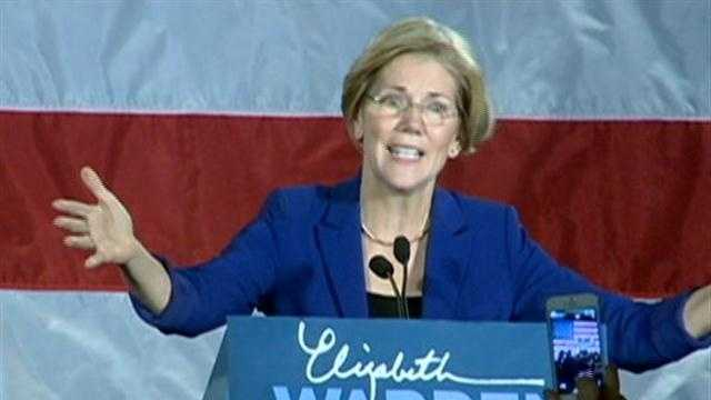 Warren: 'This victory belongs to you'